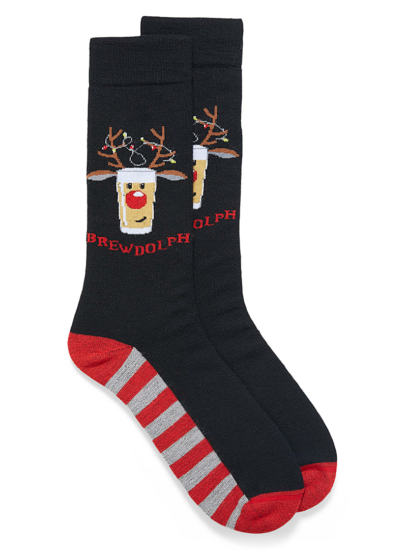 Brewdolph thermal socks