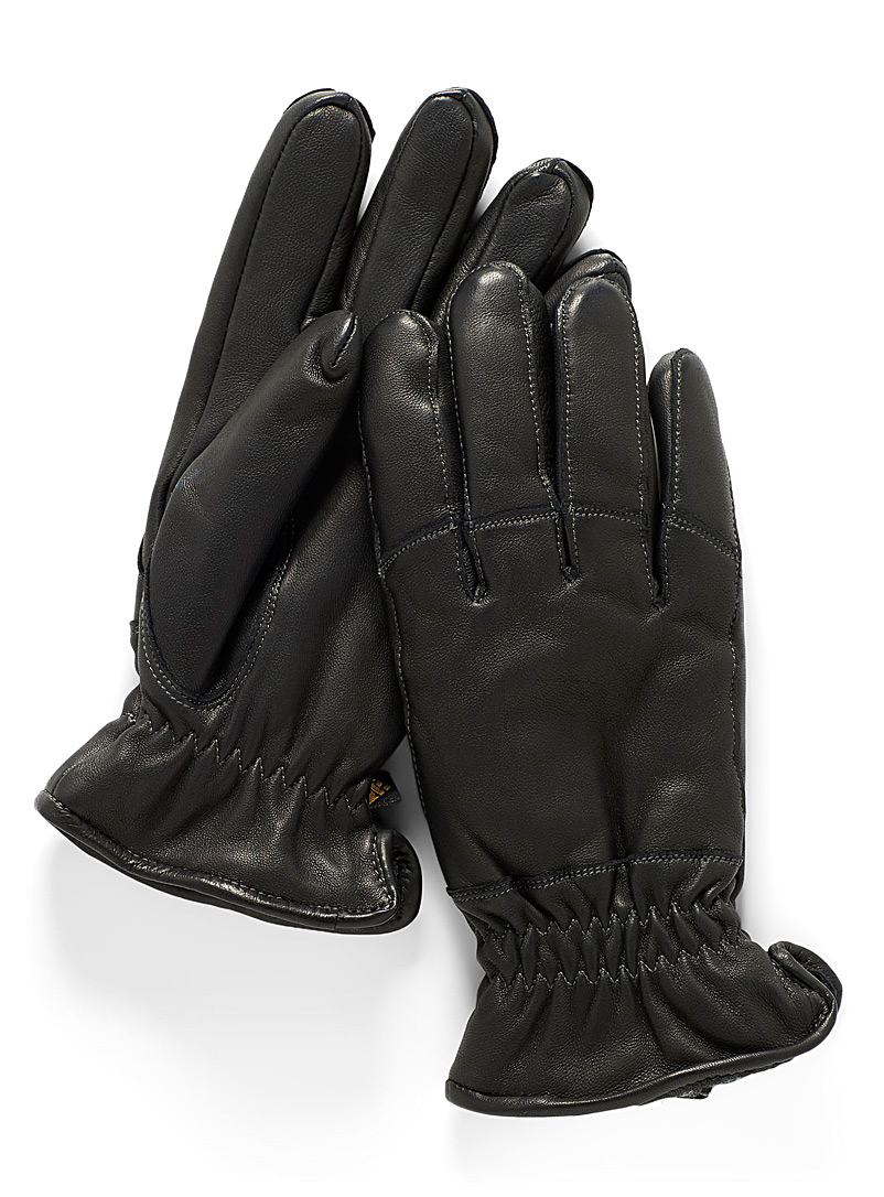 Auclair Black Sportster gloves for women