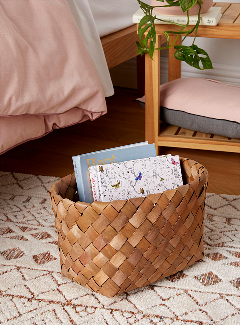 Simons Maison Brown Oval boreal basket