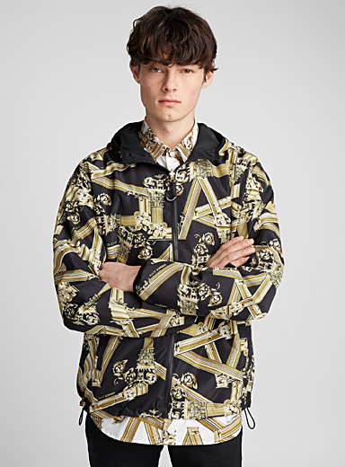 Column reversible jacket