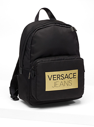 Golden signature backpack