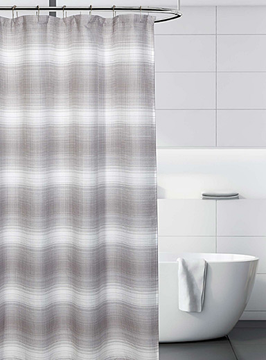 Simons Maison Patterned Grey Lost city shower curtain