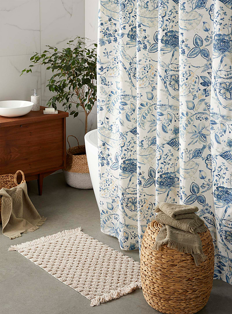 Simons Maison Assorted Secret garden shower curtain