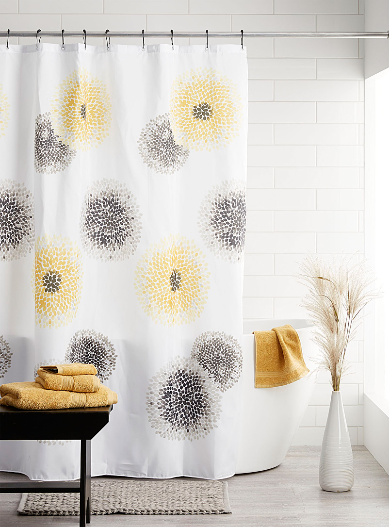Simons Maison Assorted Blossom shower curtain