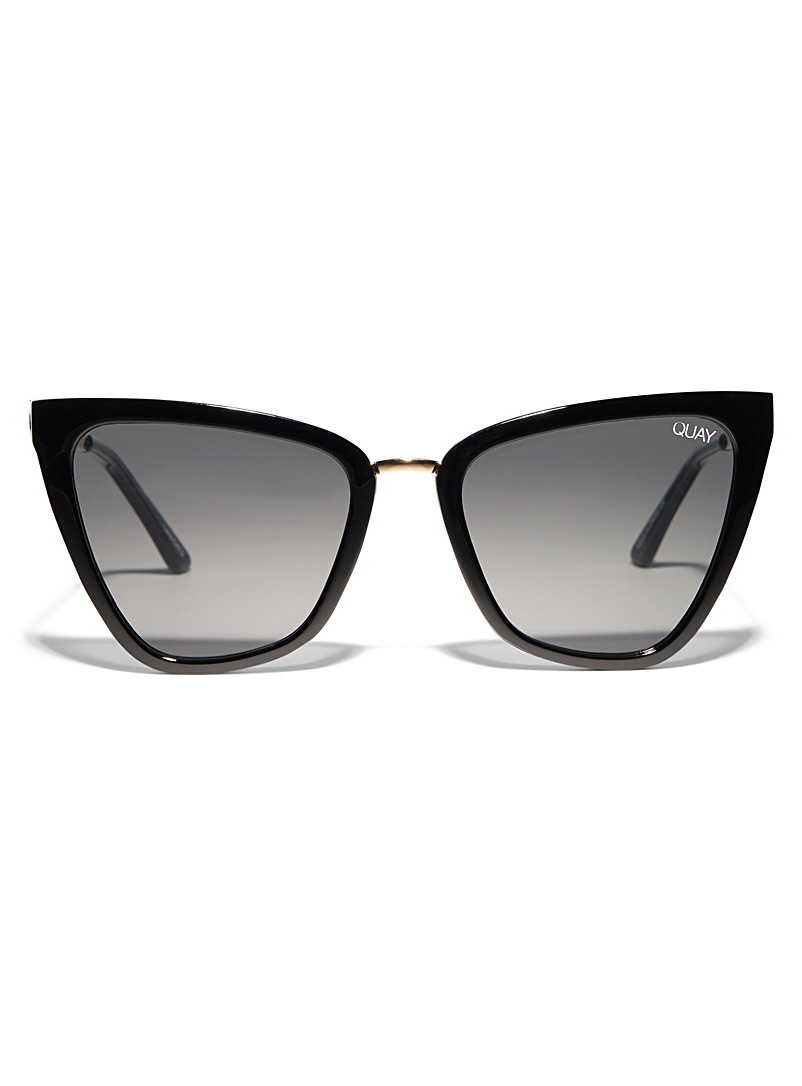 Reina cat-eye sunglasses - Designer - Black