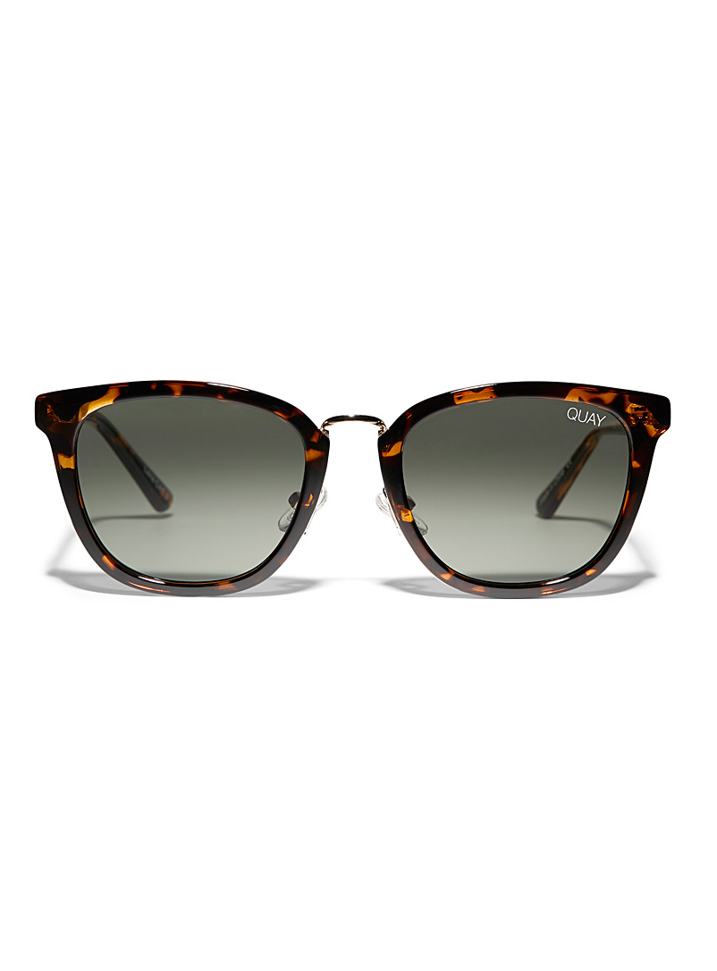 Run Around sunglasses - Square - Light Brown