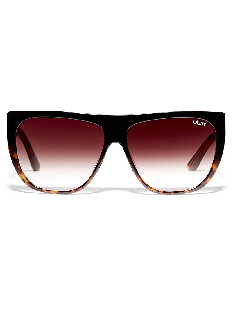 Quay Brown  Drama by Day mask sunglasses for women