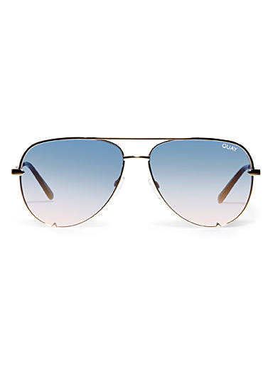 High Key aviator sunglasses