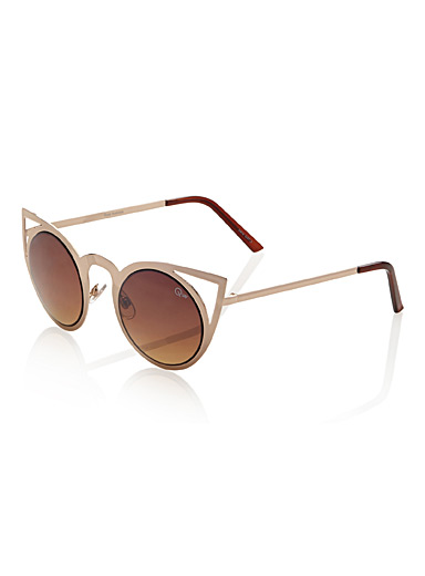 Invader cat-eye sunglasses