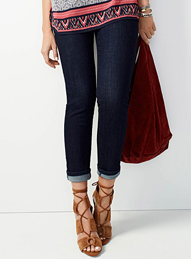 Indigo straight Yoga jean