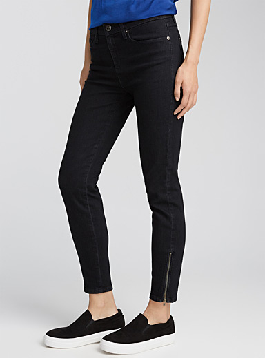 Ankle-zip Yoga jean