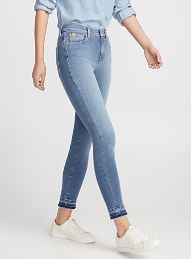 Rachel released hem skinny jean