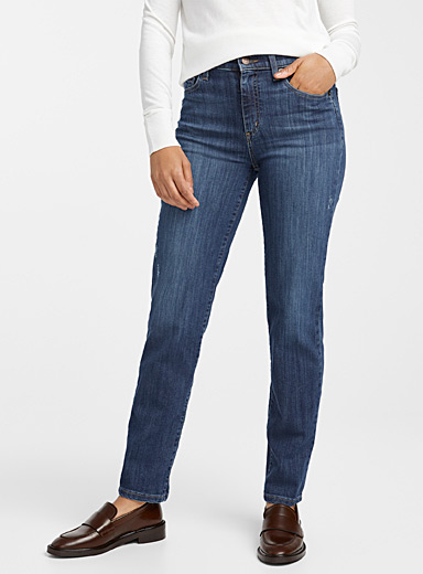 Distressed Emily slim-fit jean