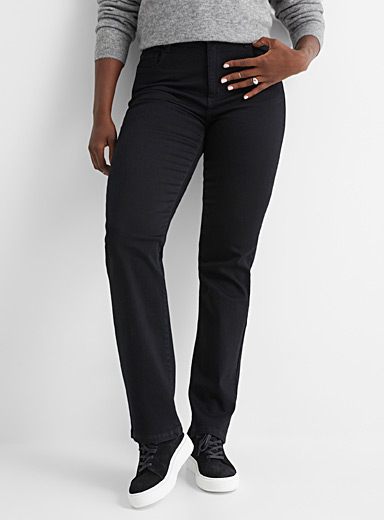 Chloe black straight jean