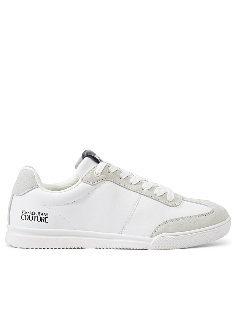 Versace Jeans Couture White Linea Fondo Open sneakers for men
