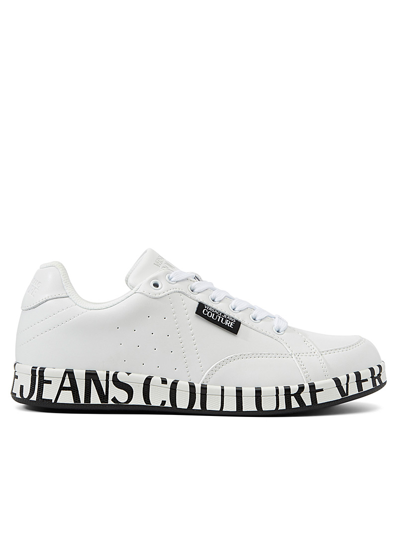 Versace Jeans Couture White Linea Fondo Rock sneakers for men
