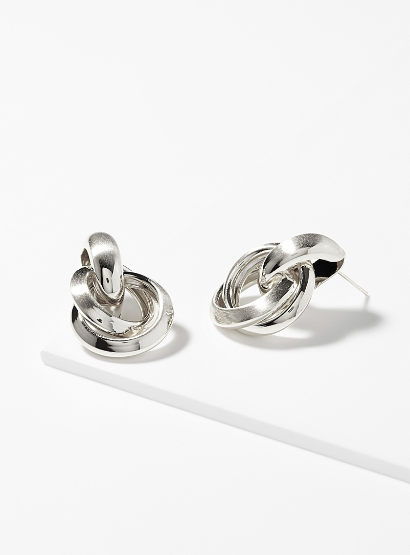 brushed-circle-earrings