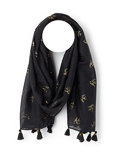 Precious swallows scarf