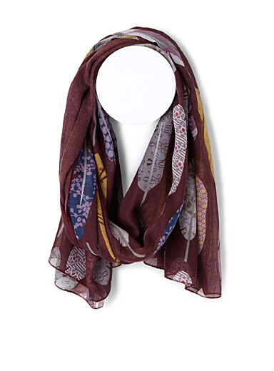Enchanted feathers scarf
