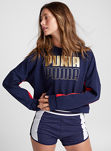 Le pull sportif manches bicolores