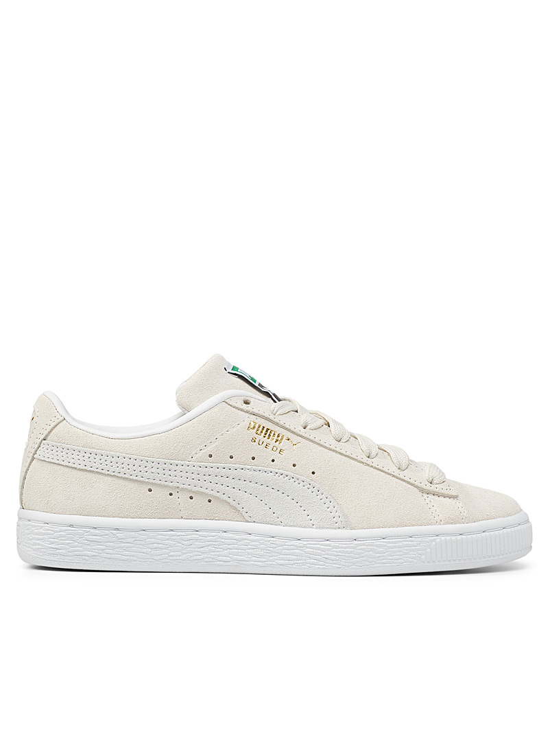 Puma Cream Beige Suede Classic XXI sneakers Women for women
