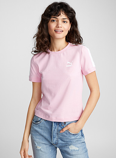 Candy pink tee