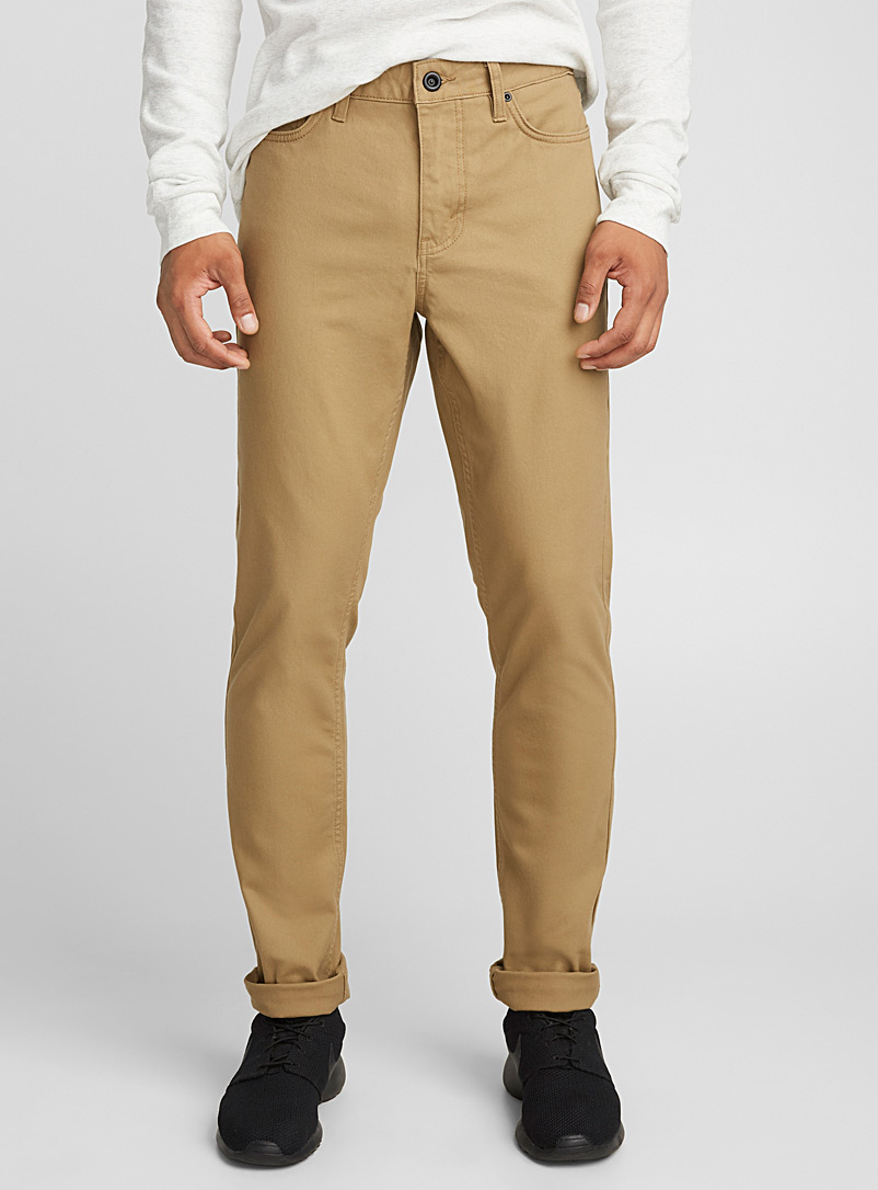 Jean-style pant  Stockholm fit - Slim - Slim fit - Light Brown