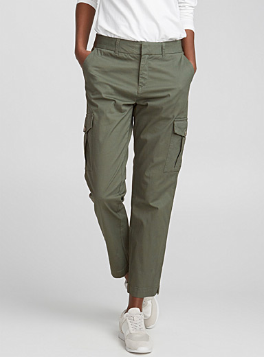 Le pantalon cargo coton stretch
