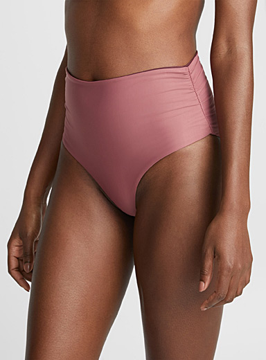 Totally Retro ruched high-waist reversible bottom