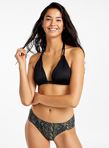 Double-strap triangle top