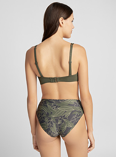 Tropical Jungle ruched bottom