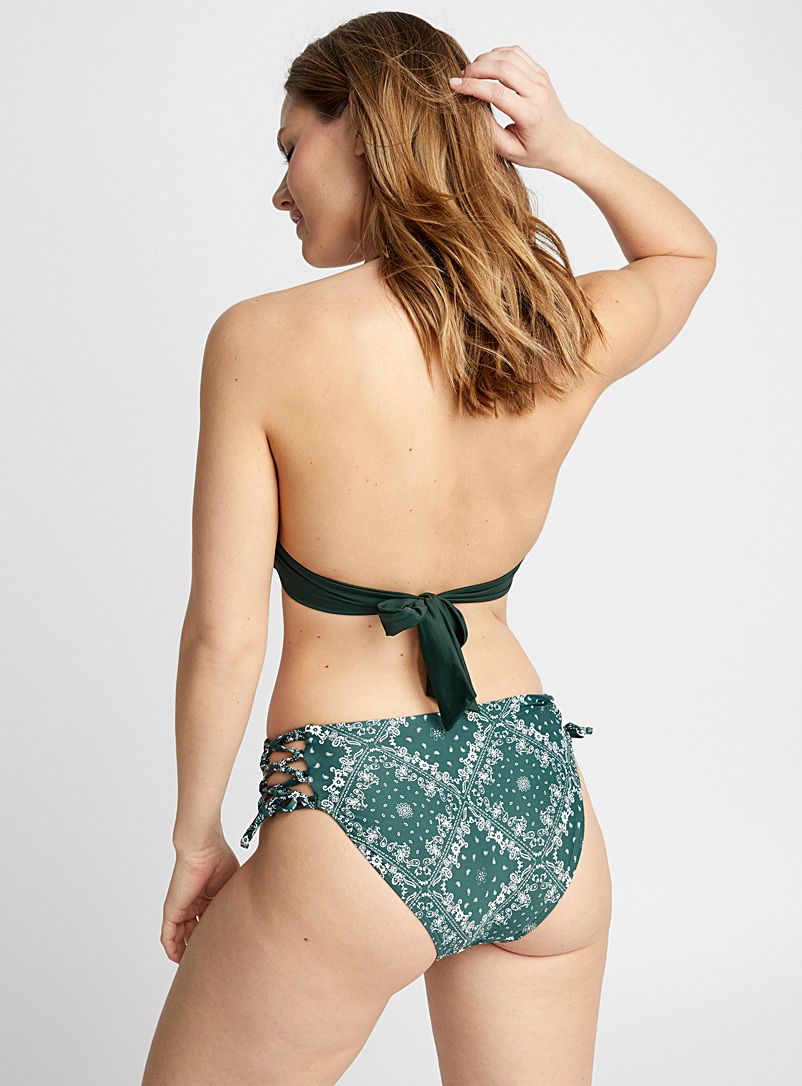 lace-up-high-waist-bottom