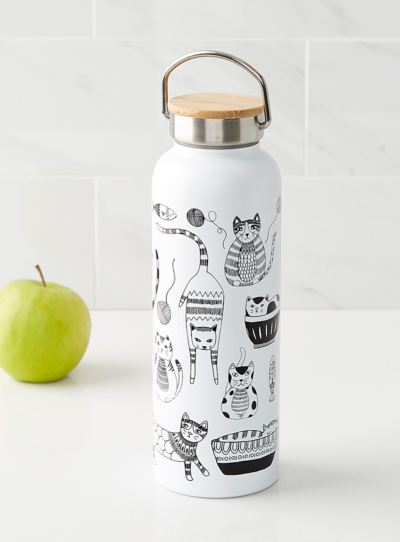 Fiesta cat water bottle