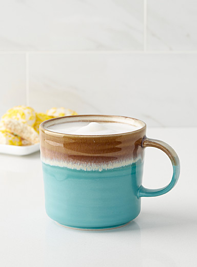 Horizon blue mug