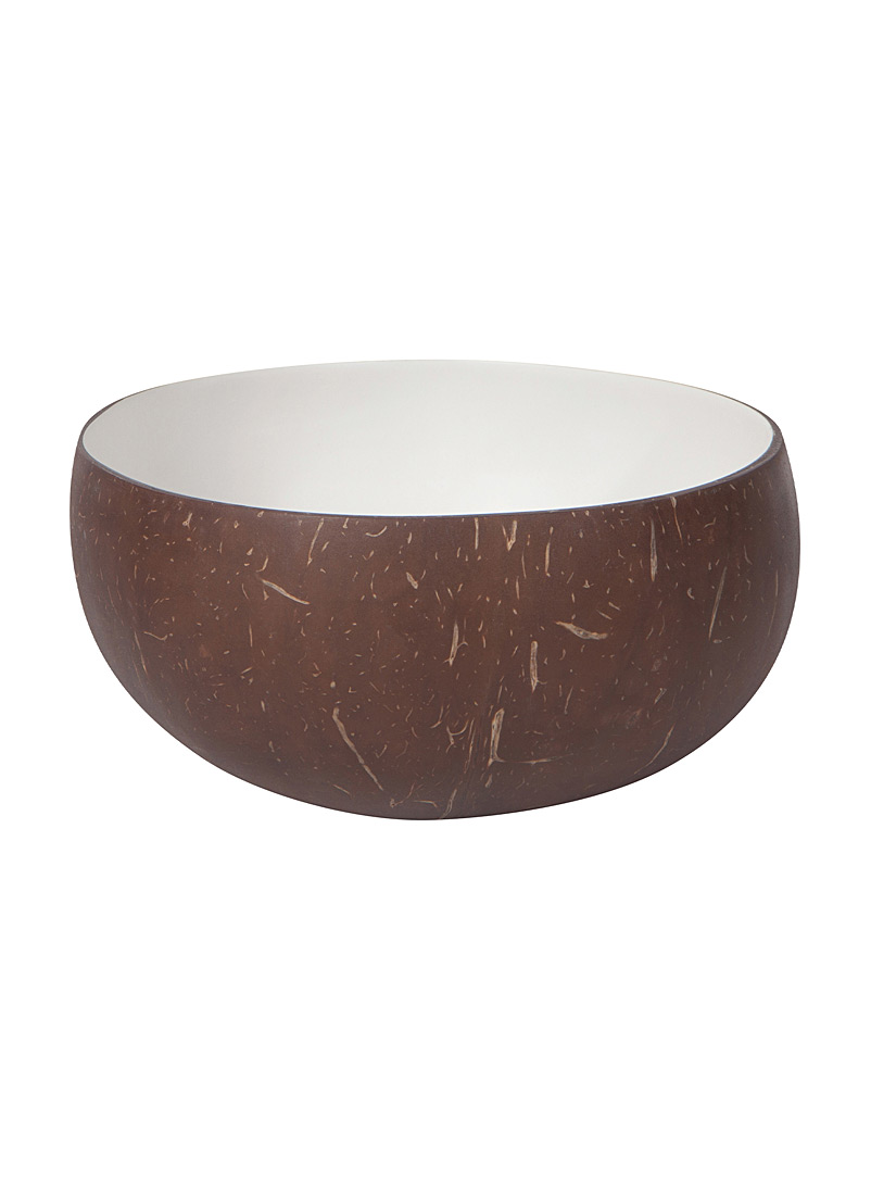 Danica White White coconut bowl