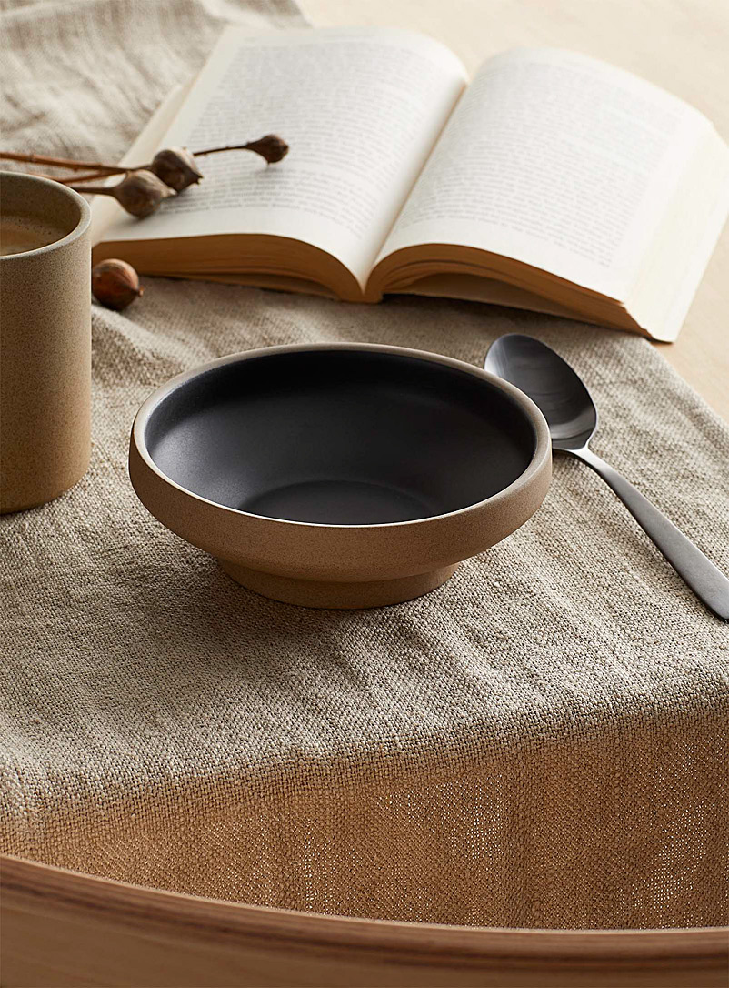 Danica Black Small raw nature bowl