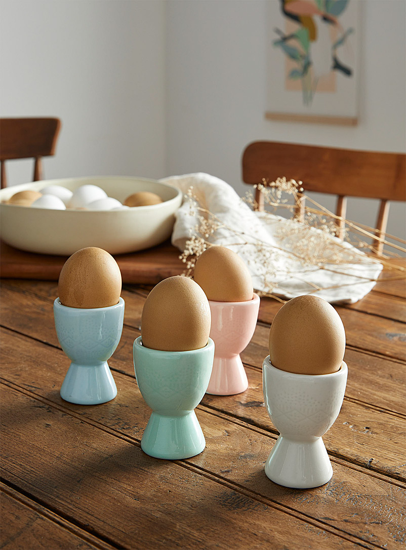 Danica Assorted Summer colour egg cups Set of 4