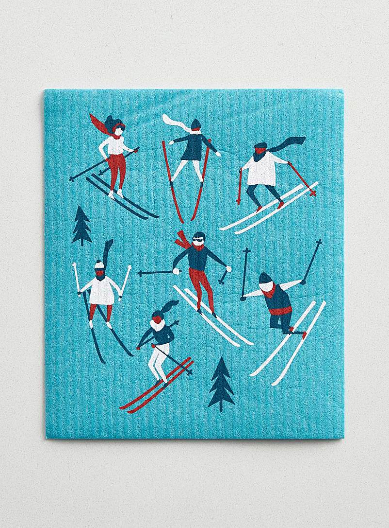 Danica Assorted Downhill skiing sponge cloth