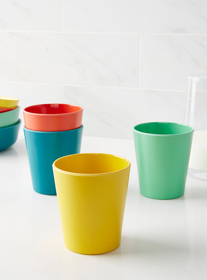 Danica Assorted Vivid Ecology cups  Set of 4