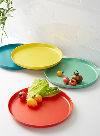 Vivid Ecology plates <br>Set of 4
