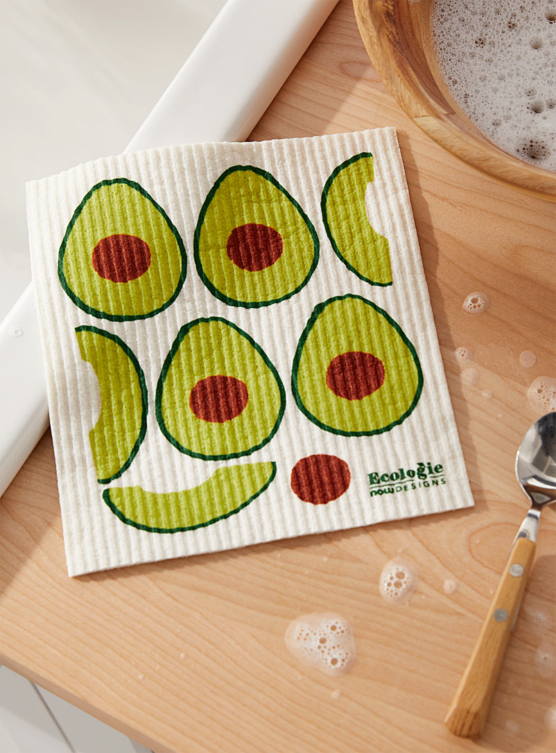 Avocado sponge cloth