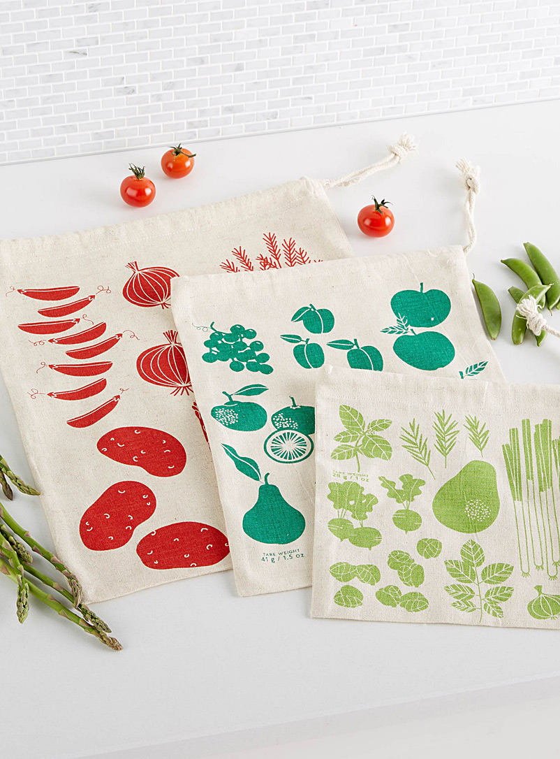 Market harvest reusable bags  Set of 3 - Useful & Chic Extras