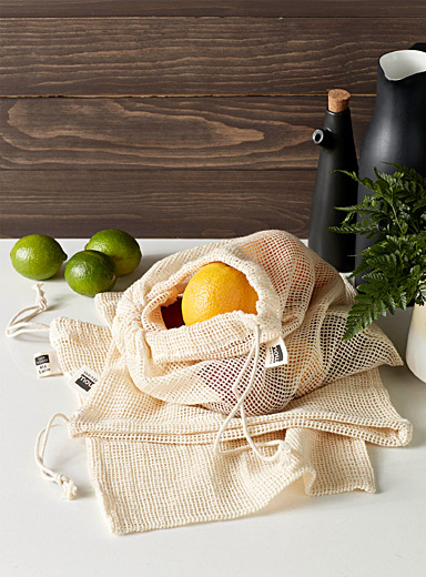 Mesh reusable produce bags  Set of 3