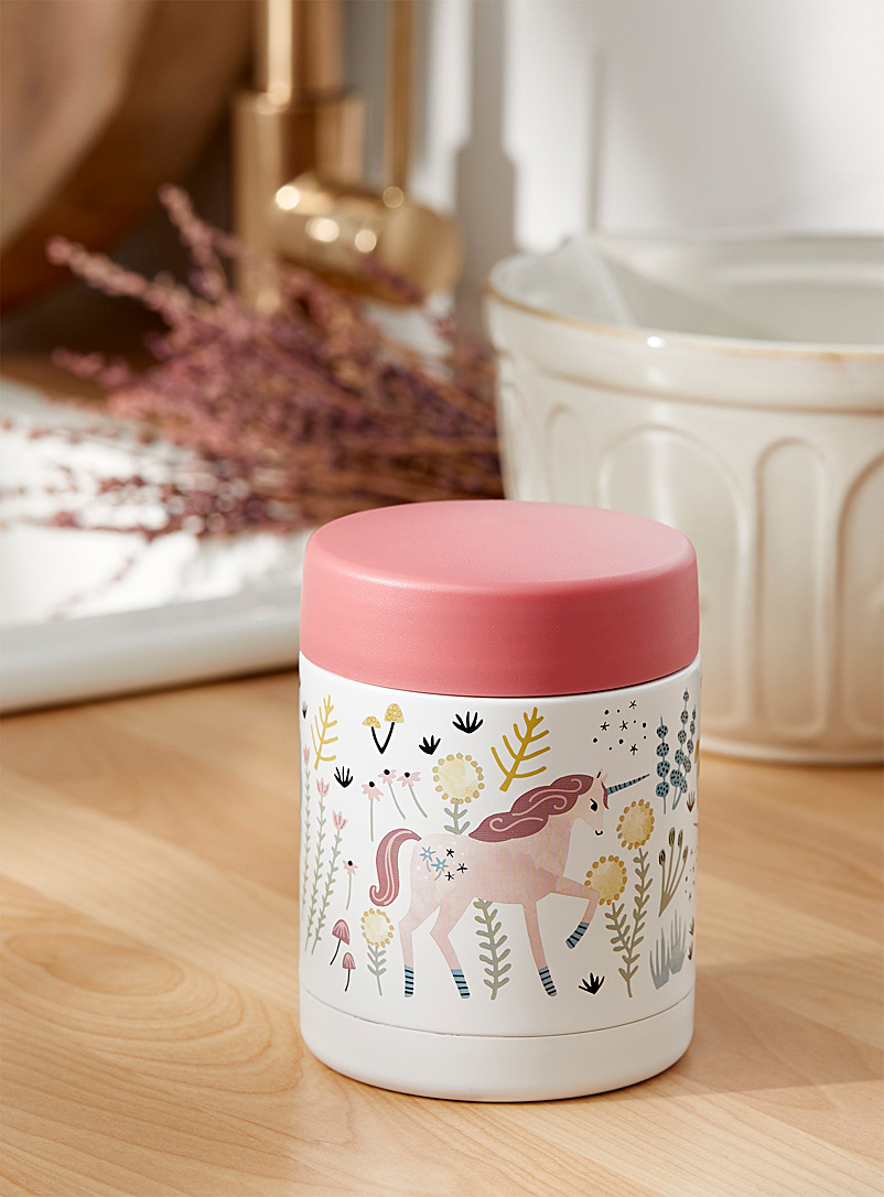 Unicorn world insulated jar