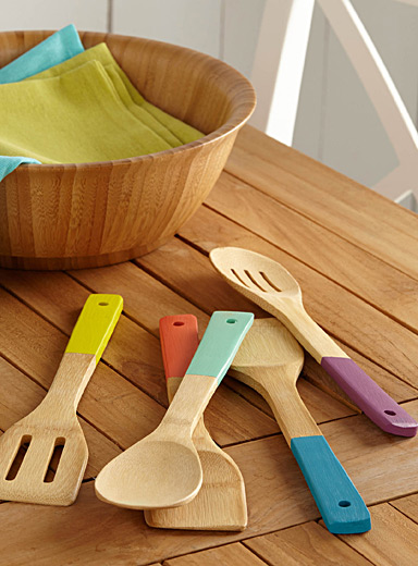 Bamboo kitchen tools  Set of 5