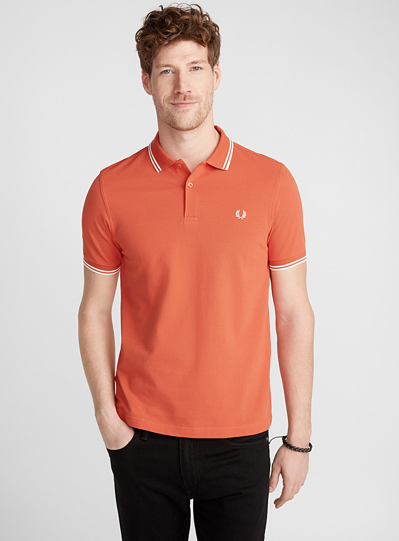 Perry piqué polo - Polos - Light Red