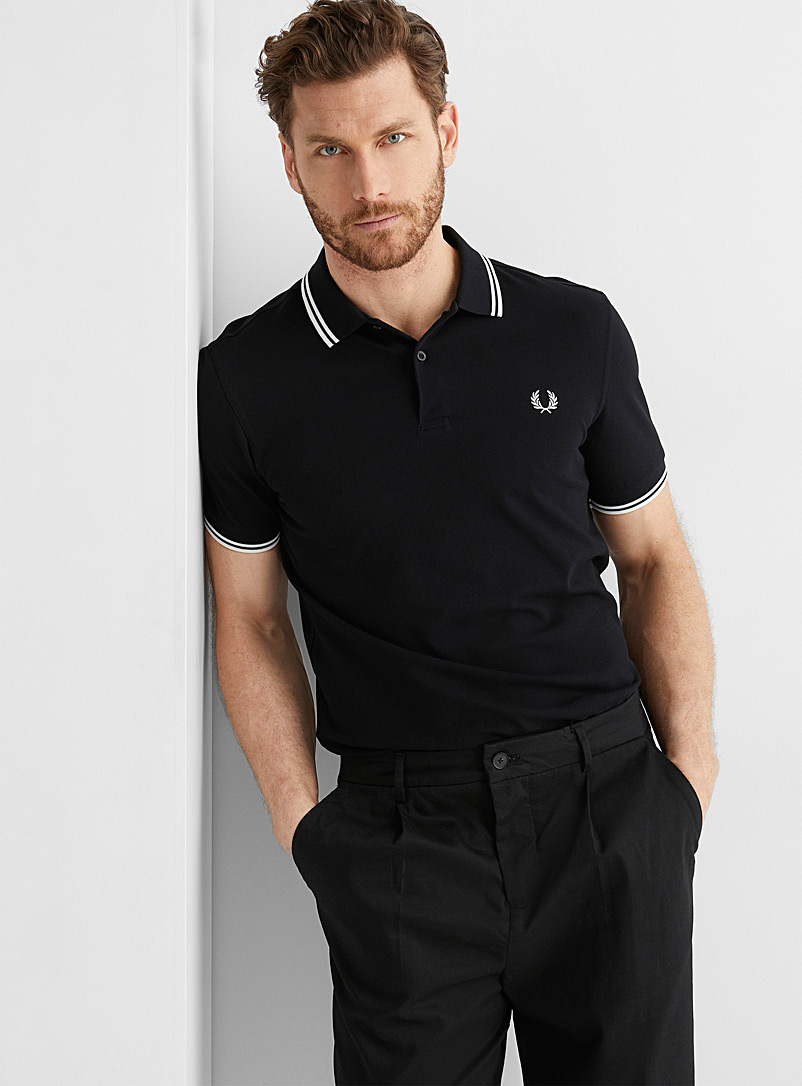 Fred Perry: Le polo emblème Perry Oxford pour homme