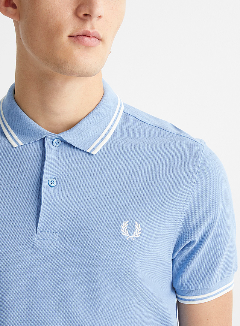 Fred Perry Oxford Perry logo polo for men