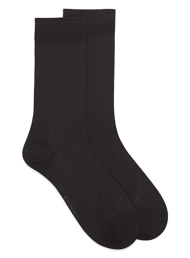 Bleuforêt Honey Seamless Egyptian cotton socks for men