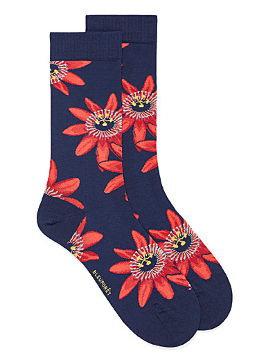 Passion flower socks